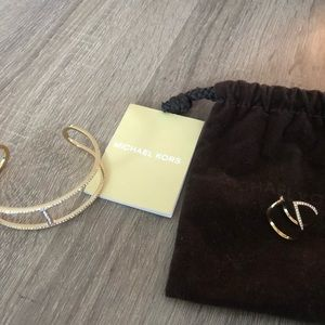 NEW Michael Kors Bangle + Ring (Size 7)